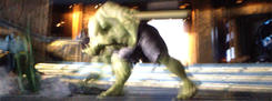 Hulk smashes Loki The Avengers by unitedcba
