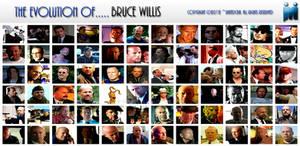 The Evolution of Bruce Willis