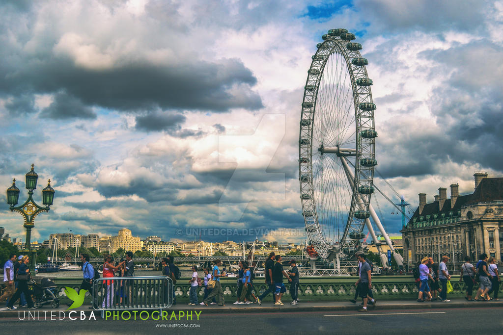 London Eye by unitedcba