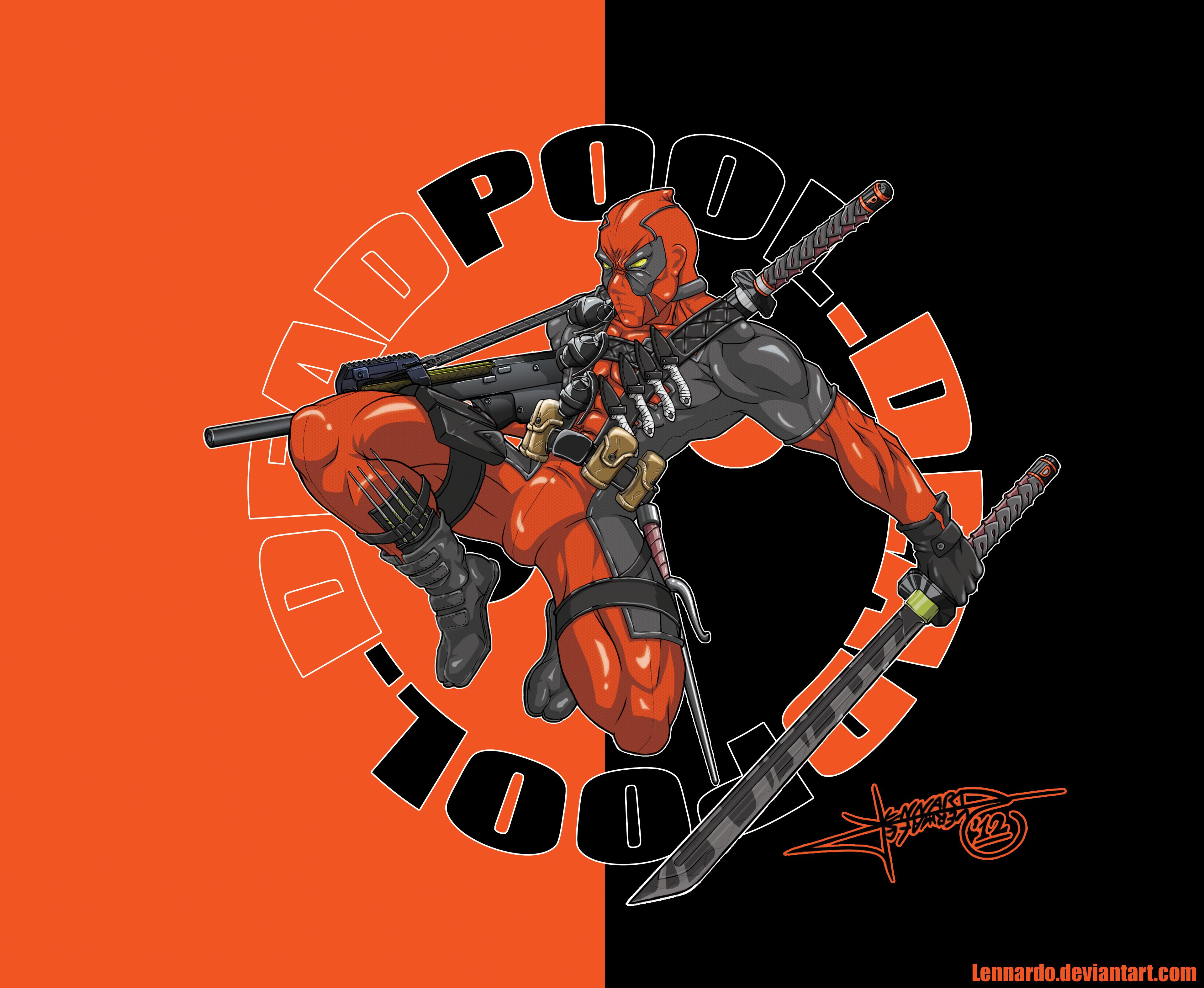 Deadpool Wallpaper By Lennardo On Deviantart