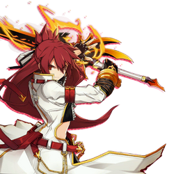 Elsword Elesis Blazing Heart skill cut-in
