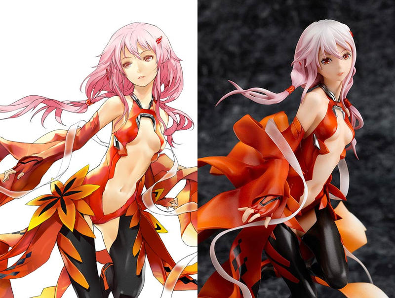 Inori Yuzuriha PVC and Package Illustration by redjuice999