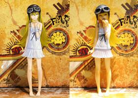 Shinobu Oshino Garage Kit Figure by TEIJI