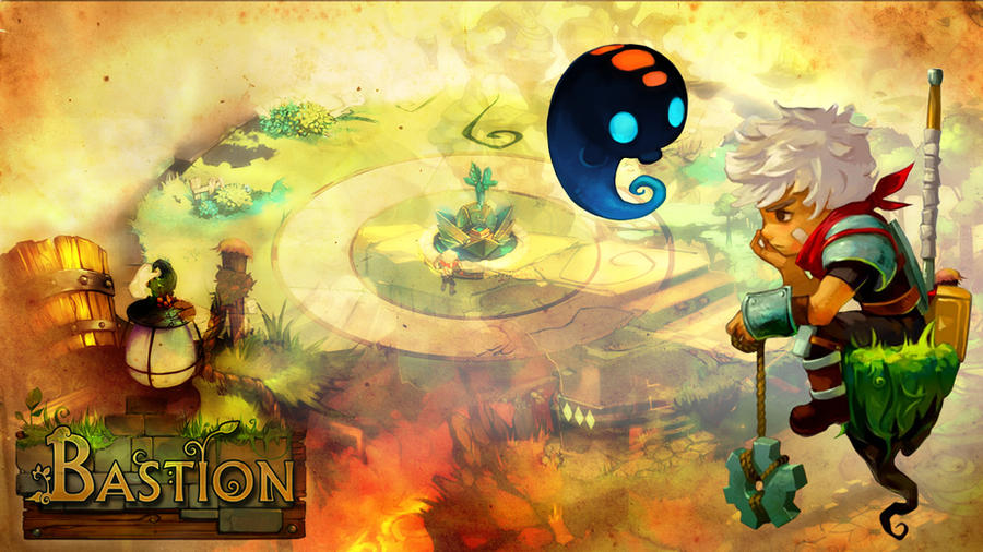 Bastion wallpaper by iyka on deviantart - Bastion wallpaper ...