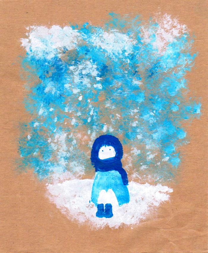 snowfall by iyka