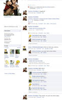 Katniss's Facebook Page by chisakami