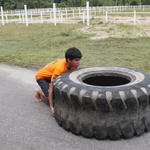 Tyre Flipping at KettlebellHit by Ravisk
