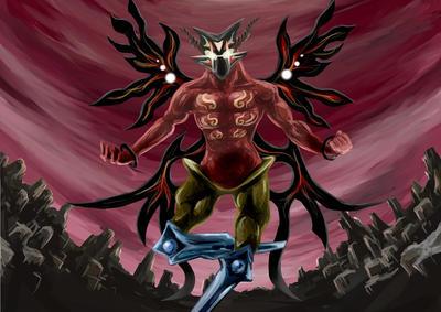 Red Warlock by manna-mori