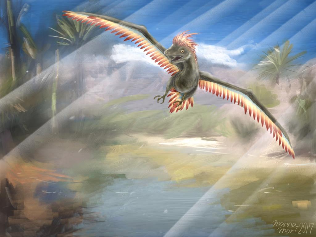 Archaeopteryx by manna-mori