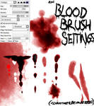 Paint Tool SAI: Blood Brush Settings *UPDATED!*