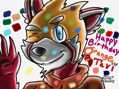 Happy birthday tavi