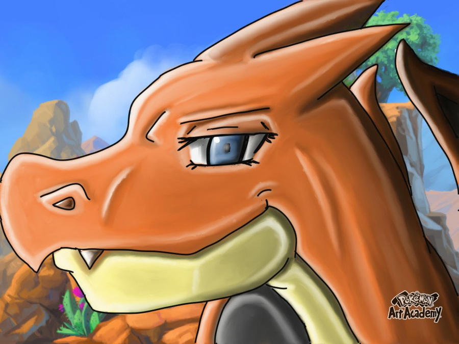 A female charizard Y has arrived by Terrix250