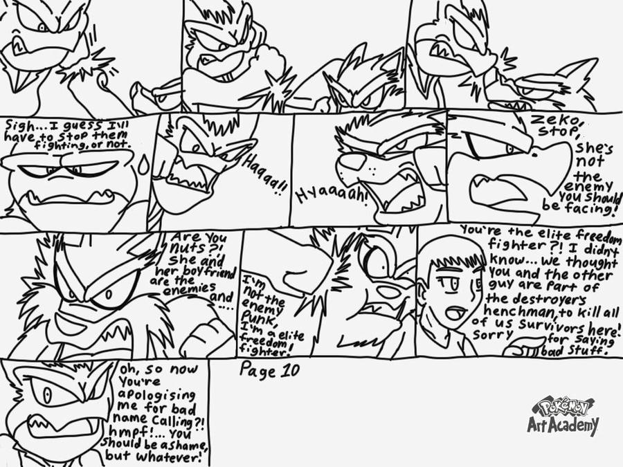 Ikky fighters s5 ep.2 page 10 by Terrix250 on DeviantArt on