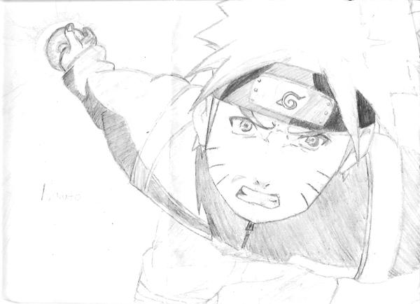how to draw naruto shippuden face