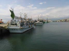 Fishing boats by Nao1967