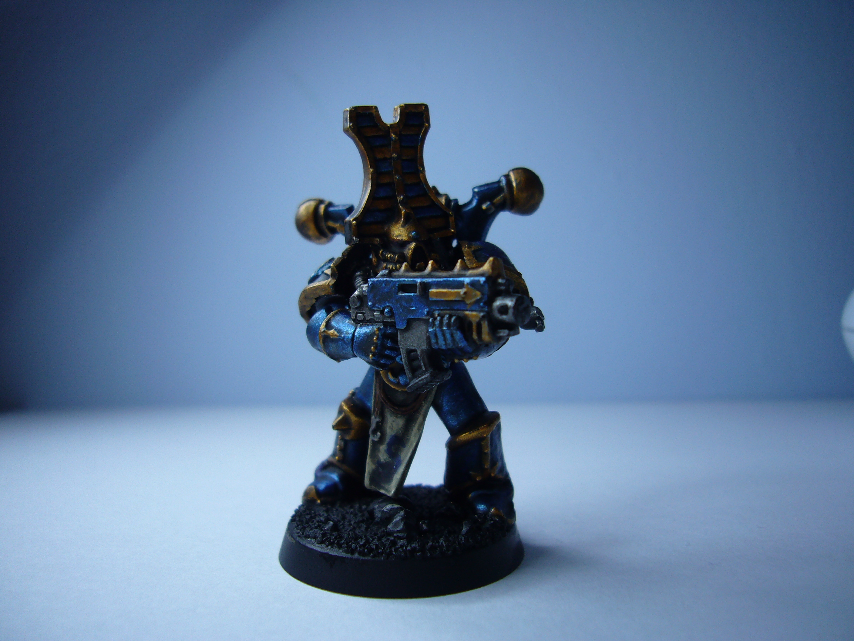 Blue Paint Used By Beserkers