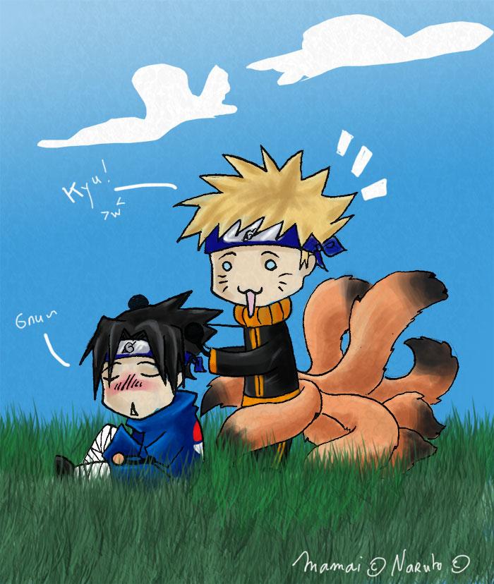 Gribouillis Naruto_x_Sasuke_kun_by_Mamai