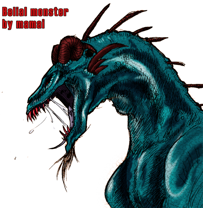 Gribouillis Belial_monster_profil_by_Mamai