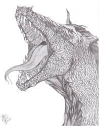 Roaring Dragon by Inemiset