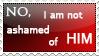 Not Ashamed Stamp by Inemiset