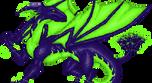 Pixel Dragon by Inemiset