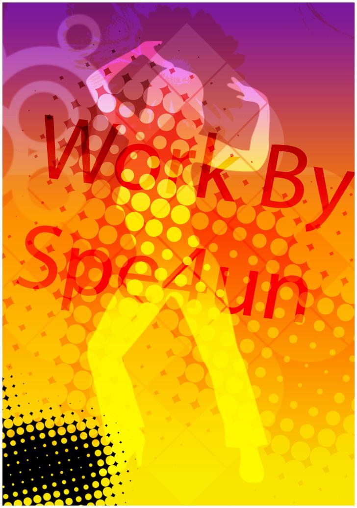 Retro Flyer by Spe4un