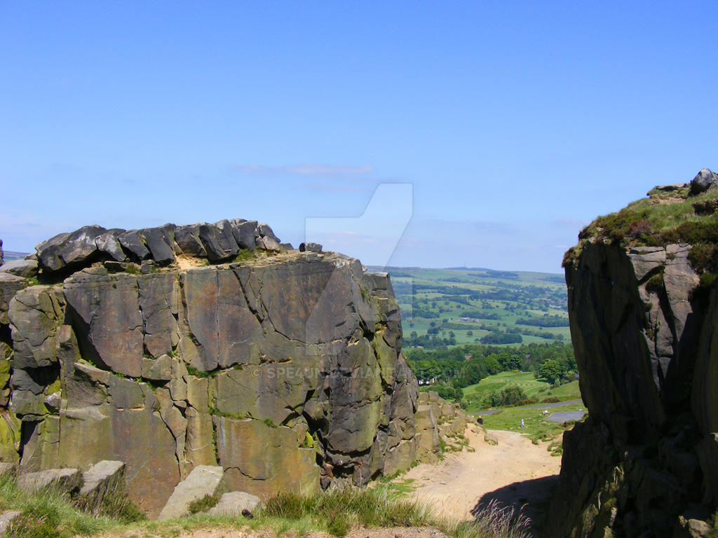 Ilkely Moors Great Summers Day by Spe4un
