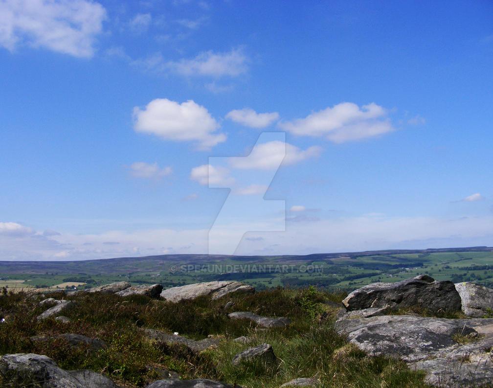 Ilkely Moors Silver Rocks by Spe4un