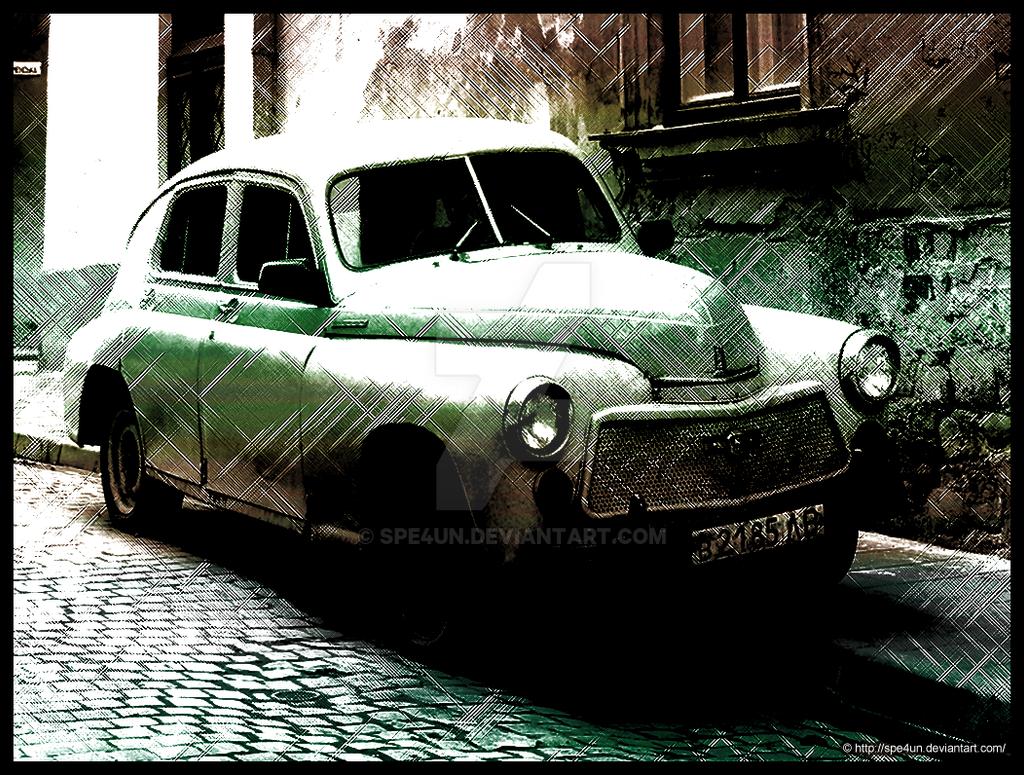 Vintage Classic Car by Spe4un