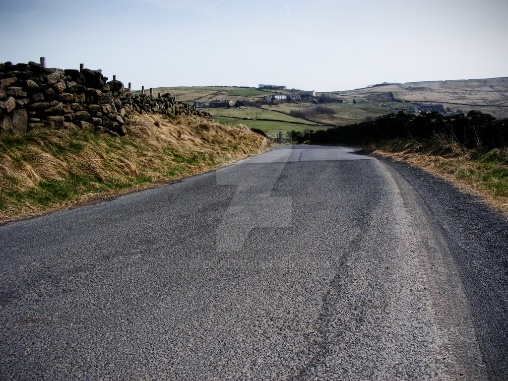 Haworth Back Lane by Spe4un