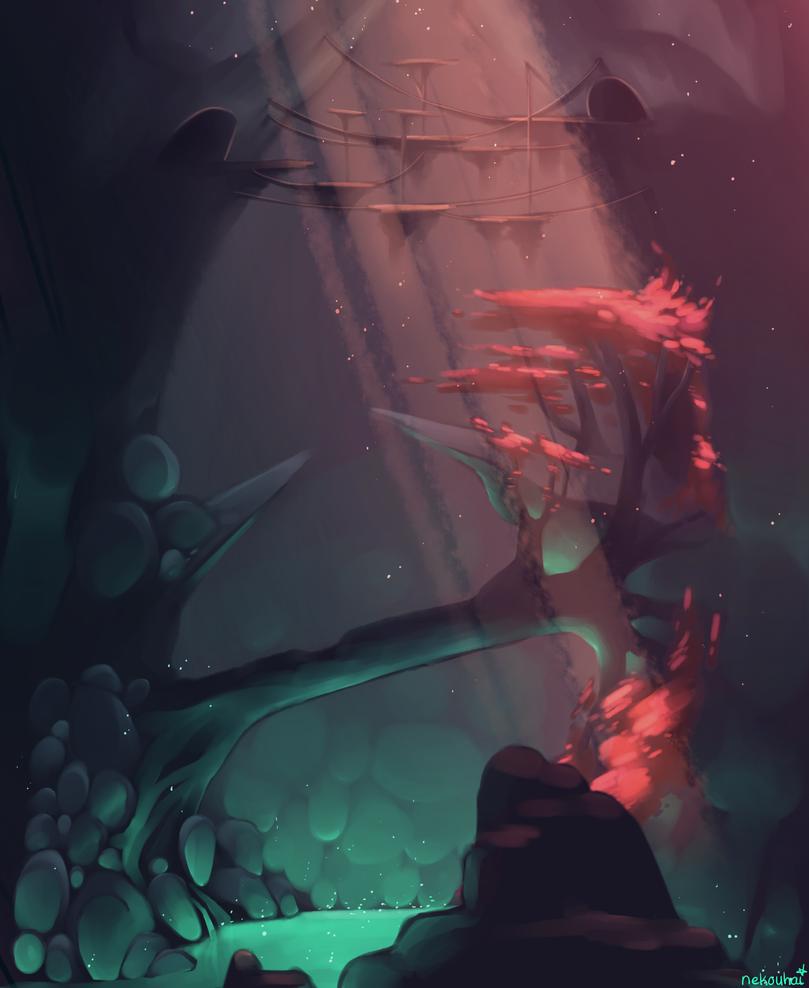 Cave by Nekouhai