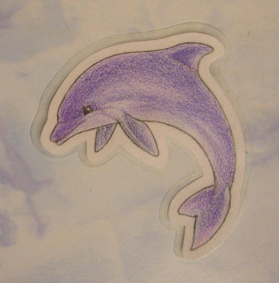Purple Dolphin By Nilecila On DeviantART
