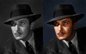 Vincent Price Colorization by GreenishQ8