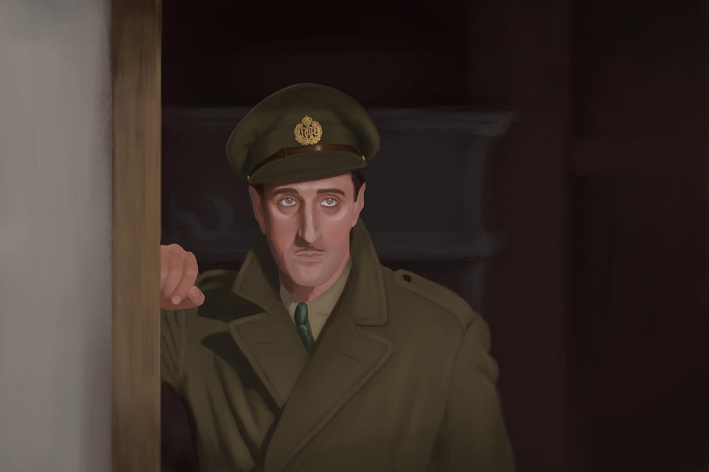 The Dawn Patrol - Basil Rathbone by GreenishQ8