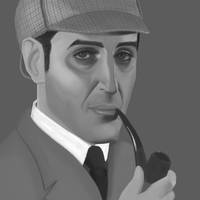 Sherlock Holmes by GreenishQ8