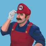 Super Mario by GreenishQ8