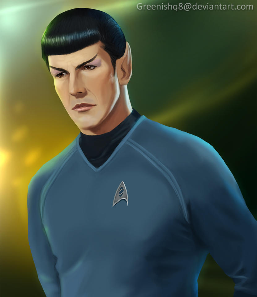Star Trek - Spock by GreenishQ8