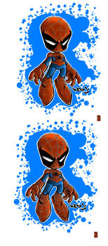 Spiderman By red-J