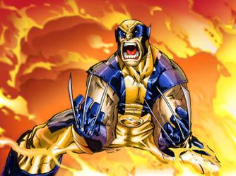 Wolverine by Kitsune-2077