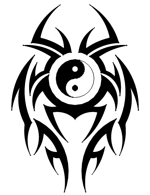 Yinyang tribal by johnd920