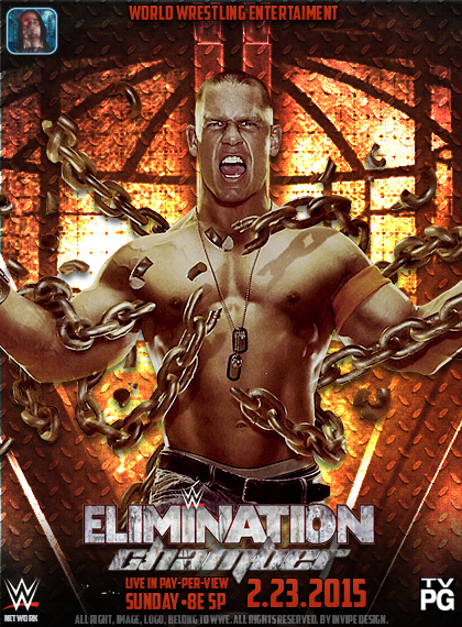 WWE PAY PER VIEWS Elimination_chamber_2015_custom_poster_by_invipedesign-d86ln6f