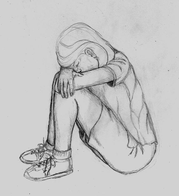 deviantART: More Like crying girl sketch by jadisofeternity