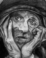 Homeless portrait by pingvin66666