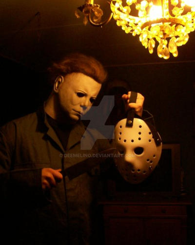 Michael Myers Jason mask by DeeMelino