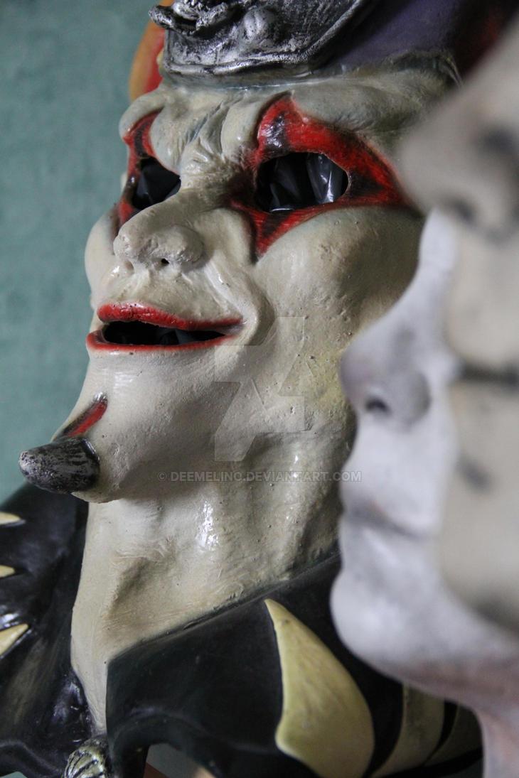 Slipknot Jim Root Jester mask by DeeMelino on DeviantArt