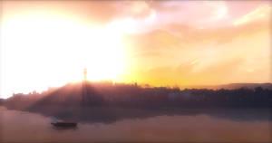 Sunset on Dunwall City