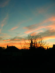 Last sunset before Winter by bielak2019
