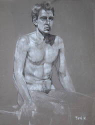 Male Nude Figure 01 by rawREN