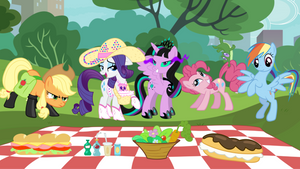 The Ponies Are Having A Picnic