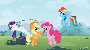The Ponies Are Having Fun
